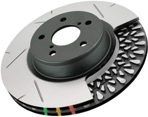DBA Camaro 4000 SL Series Brake Rotor - Passenger Rear