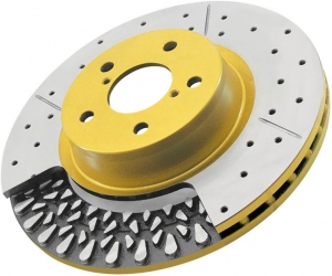 DBA Camaro 4000 XS Series Brake Rotor - Rear
