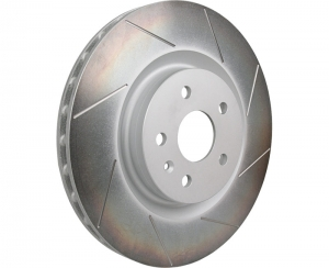 LSR Camaro Slotted Brake Rotors - Front Set