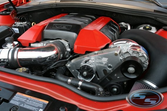 Vortech 2010-14 Camaro SS Polished Supercharger System