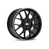 BBS CH-R Matt Black Wheel w/ Stainless Lip - 20x10.5