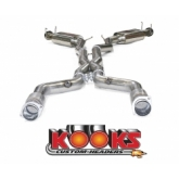 Kooks Camaro Cat Back Exhaust - V8 SS