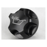 LSR Camaro Black Engraved Billet Aluminum Oil Cap